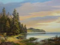 Пейзаж с рыбаками