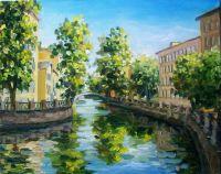 Солнечный дент на Канале Грибоедова