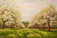 В яблоневом саду