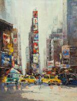 "Картина маслом ""Нью-Йорк, Манхэттен"""