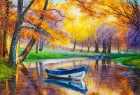 Картина маслом Волшебные краски осени