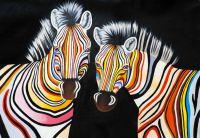 Разноцветные зебры N12