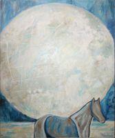 Луна и лошадь