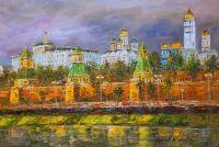 Вид на Кремль с Москва-реки