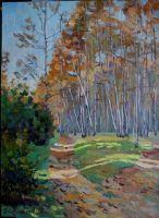 Осень в Крылатском