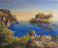 Картина ККартина маслом Новый Свет, Крым