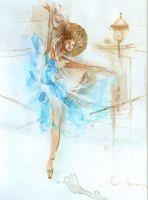 Fly ballet: Танец в бирюзовом