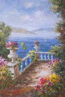 Вид на море с балкона N1