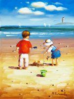 Дети на пляже N15