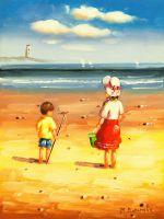Дети на пляже N16