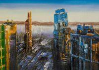 Москва-Сити. Вид на город с высоты птичьего полета