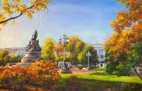 В парках Санкт-Петербурга