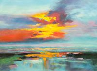 Закат над заливом N3