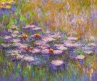 Водяные лилии, N23, копия картины Клода Моне