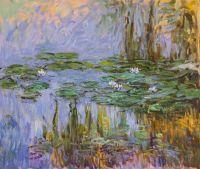 Водяные лилии, N24, копия картины Клода Моне