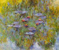 Водяные лилии, N26, копия картины Клода Моне