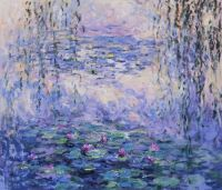 Водяные лилии, N27, копия картины Клода Моне