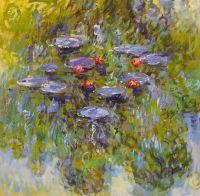 Водяные лилии, N28, копия картины Клода Моне
