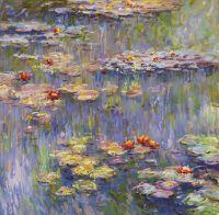 Водяные лилии, N29, копия картины Клода Моне