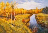 Копия картины Золотая осень