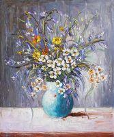 Букет с белыми цветами