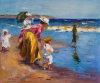 Дети и море. Прогулка