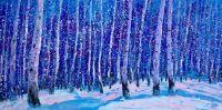Зимние берёзы