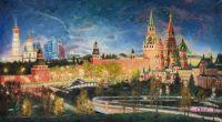 Безмолвие ночного Кремля