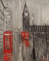 Лондон. Дождь