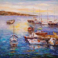 Лодки у причала N3