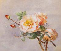 Копия картины Пауля де Лонгпре. Розы