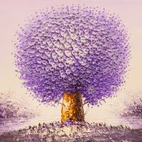 Дерево желаний. Сиреневый цвет