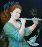 Наан с флейтой