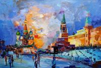 Москва. Прогулки по Красной площади