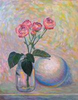 Куст розы с шаром