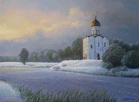 Храм Покрова зимой