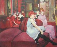 """""""В салоне на улице Мулен"""" 1894"""