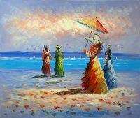 """""""Четыре леди на пляже"""""""