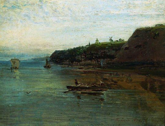 Волга близ Городца