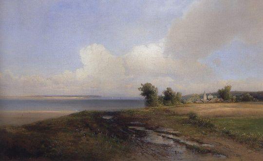 Пейзаж. Берег Волги