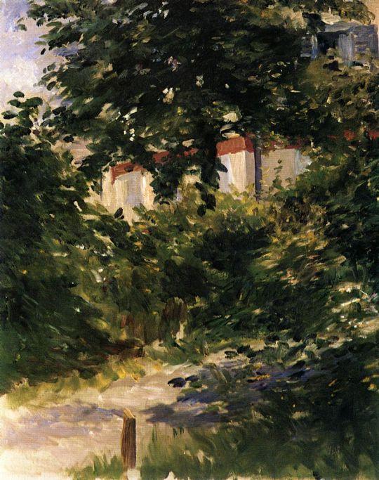 Путь в саду Рюэй