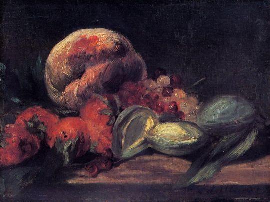 Миндаль, смородина и Персики
