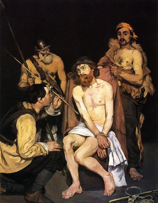 Насмешки солдат над Иисусом