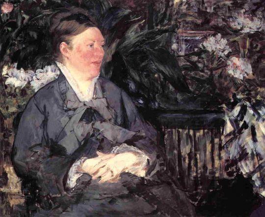 Мадам Мане в консерватории