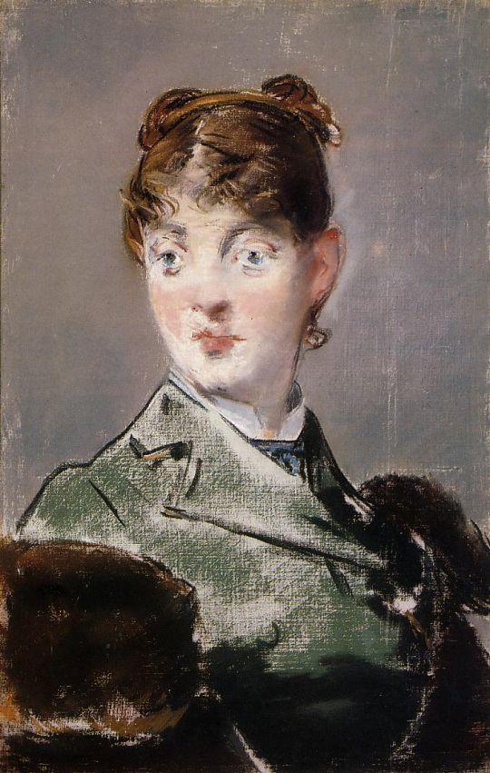 Парижанка, Портрет мадам Жюль Гилмет