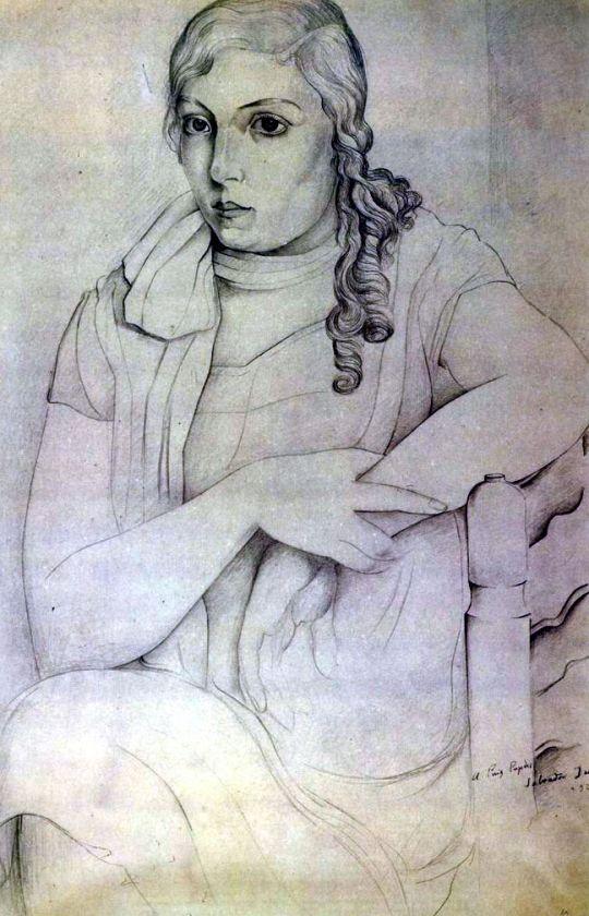Портрет девушки (Мария Карбоне)