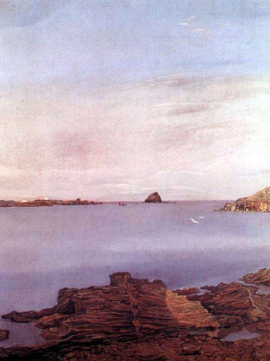 Скалы на побережье Льяны