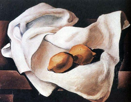 Натюрморт с двумя лимонами
