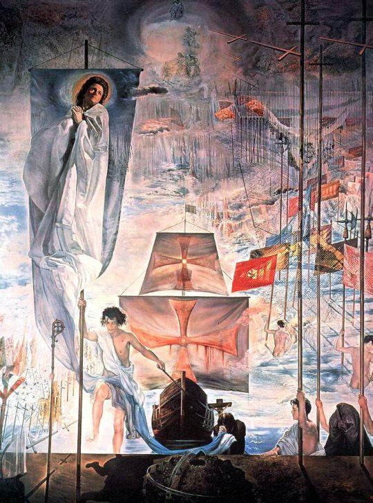 Открытие Америки усилием сна Христофора Колумба