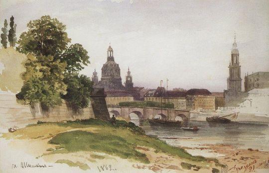 Дрезден. Мост Августа.